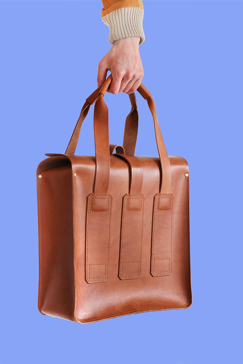 Brown Service holdall
