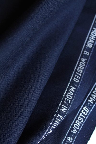 Scott Fraser Collection - Navy Blue Mohair