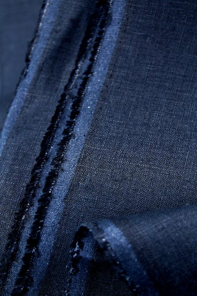 Scott Fraser Collection - Navy blue linen