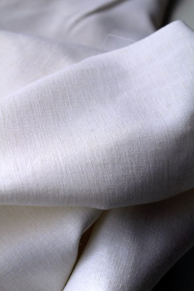Scott Fraser Collection - White milk linen cotton