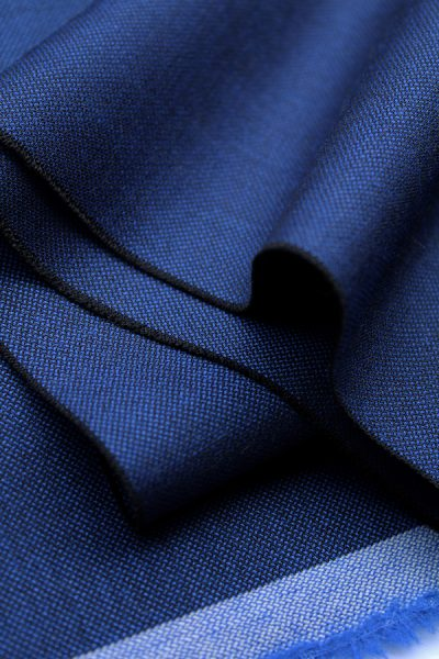Scott Fraser Collection - Blue and black tonic wool