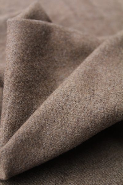 Scott Fraser Collection - Chocolate camel combed wool