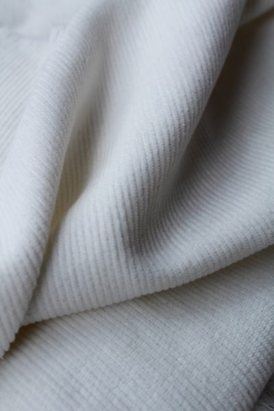 Scott Fraser Collection - White Corduroy