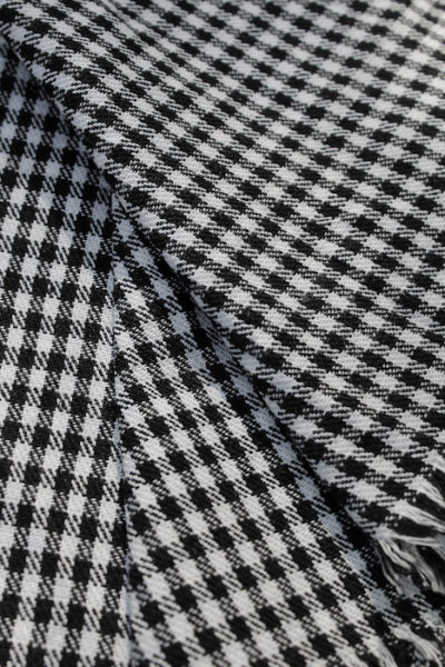 Scott Fraser Collection - Black and white mid-check cotton
