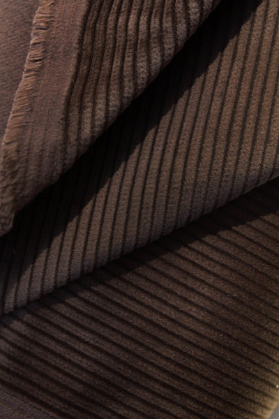 Scott Fraser Collection - Chocolate brown thick corduroy