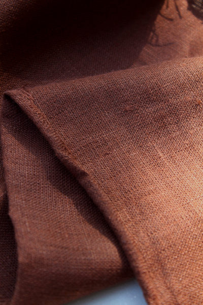 Scott Fraser Collection - Plum brown linen